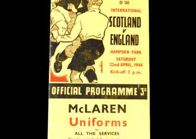 Scotland v England 22.04.1944 2-3