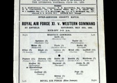 RAF v Western Command 20.05.1944