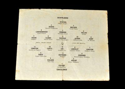 England v Scotland 18.09.1944 in New Delhi