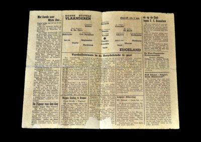 Belguim v England XI 24.03.1945