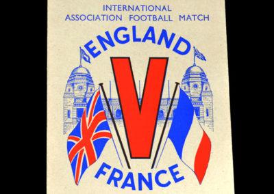 England v France 26.05.1945 - Victory Match 2-2