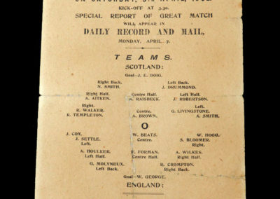 Scotland v England 05.04.1902 (Ibrox Disaster)