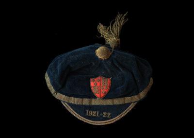 England Cap 1921/22 Season given to Frank Moss (Aston Villa)