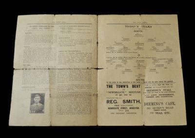 North v South Schools 23.02.1929 (Stanley Matthews)