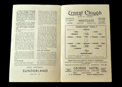 Huddersfield v Gateshead 15.11.1941