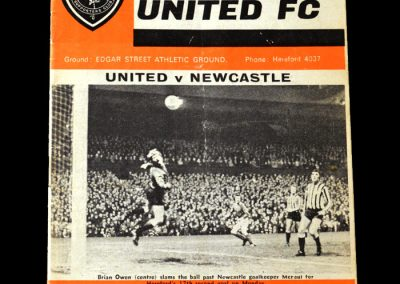 Hereford v Newcastle - 3rd Round Replay 05.02.1972 2-1 - 2-1 John Motson & Ronnie Radford go into FA Cup folklore before sub Ricky George, bought for £600 (that's six hundred!) from Barnet the previous season scored the winner in extra time