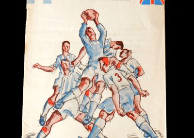 Argentina v England 14/17.05.1953 - Good form at United gets him on the South American tour & and an England debut.