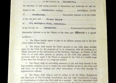 1954/55 contract. Doing it all for £15 / week and £12 in the summer.