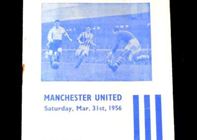 Huddersfield v Man Utd 31.05.1956 - 100th goal.