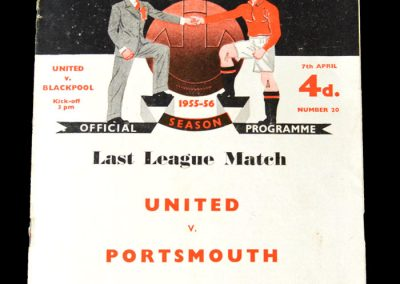 Man Utd v Blackpool 07.04.1956 - a goal in a 2-1 which clinches the title.