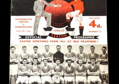 Man Utd v Sunderland 20.04.1957 - Champions again.
