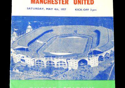 FA Cup Final 04.05.1957 v Aston Villa. Despite a late goal from Tommy, United lose 2-1