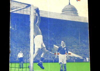 England v Wales 07.04.1951