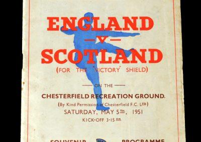 England v Scotland 05.05.1951