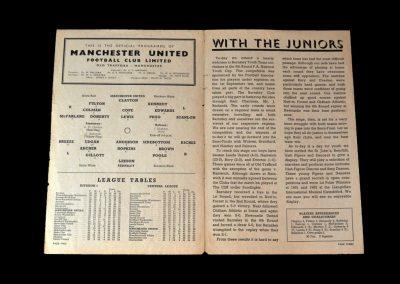 Man Utd v Barnsley 21.03.1953 - FA Youth Cup Round 5