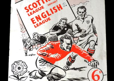Scotish League v English League 16.03.1955