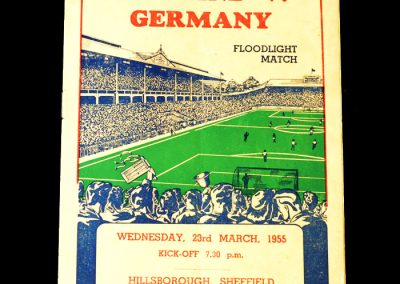 England v Germany 23.03.1955 - B Team