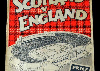 Scotland v England 14.04.1956