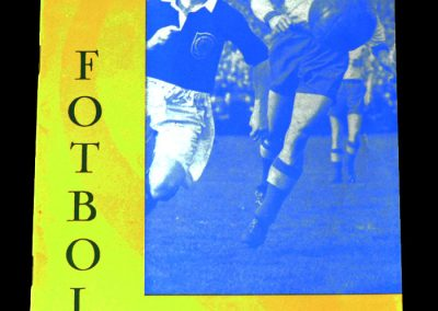 Sweden v England 16.05.1956