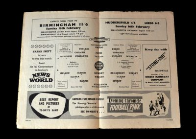 Man Utd v Wolves 08.02.1958 - postponed