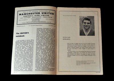 Man Utd v West Brom 05.03.1958