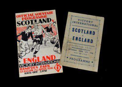 Scotland v England 13.04.1946