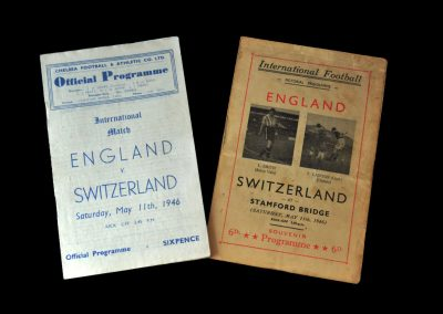 England v Switzerland 11.05.1946