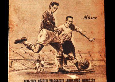 Hungary v England 23.05.1954