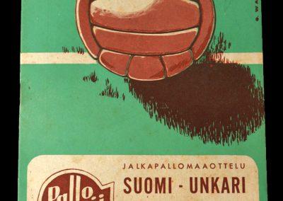 Hungary v Finland 19.05.1955 9-1