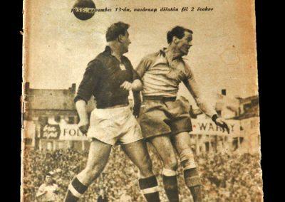 Hungary v Sweden 13.11.1955 4-2