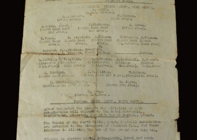 North Riding v Durham 29.10.1949