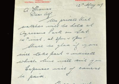 Camsell & Jack Letter 12.05.1949