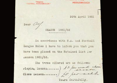 David Jack letter 30.04.1951 (terms)