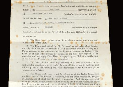 Stockton contract 04.12.1952