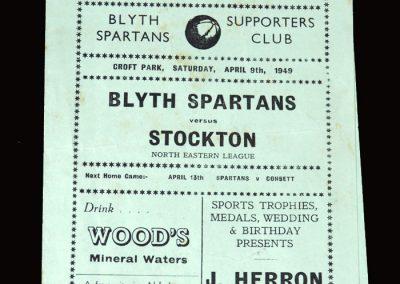Blyth v Stockton 09.04.1949