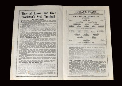 Stockton v Syd Turnbull's 11 25.04.1949 (Lawton didn't show)