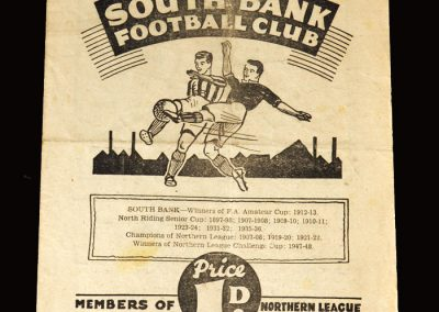 South Bank v Bishop Auckland 14.01.1950