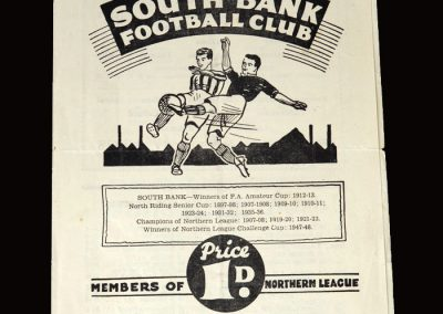 South Bank v Penrith 11.03.1950
