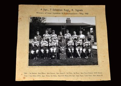 Army Team Photo May 1950