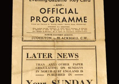 Stockton v Blackhall 28.03.1953
