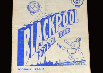 Blackpool v Everton 02.04.1955 4-0