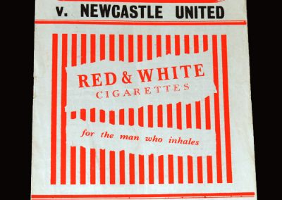 Charlton v Newcastle 02.04.1955 1-1