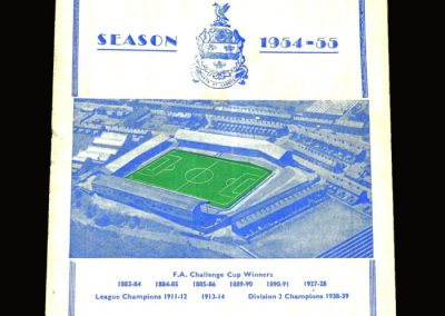 Blackburn v Birmingham 02.04.1955 3-3