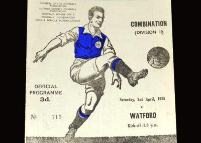 Ipswich Res v Watford Res 02.04.1955