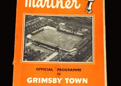 Grimsby v Southport 02.04.1955 0-1