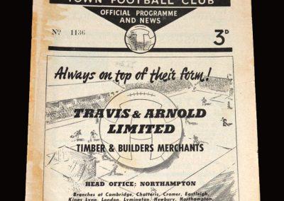 Northampton v Torquay 02.04.1955 1-0
