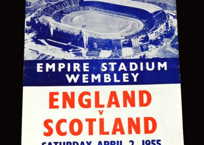 England v Scotland 02.04.1955 (pirate)