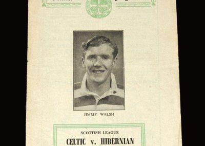 Celtic v Hibernian 02.04.1955 1-2