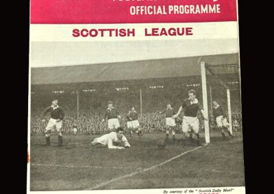 Hearts v Clyde 02.04.1955 3-0