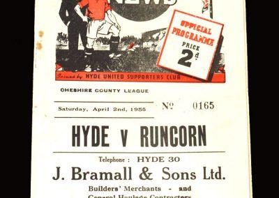 Hyde v Runcorn 02.04.1955